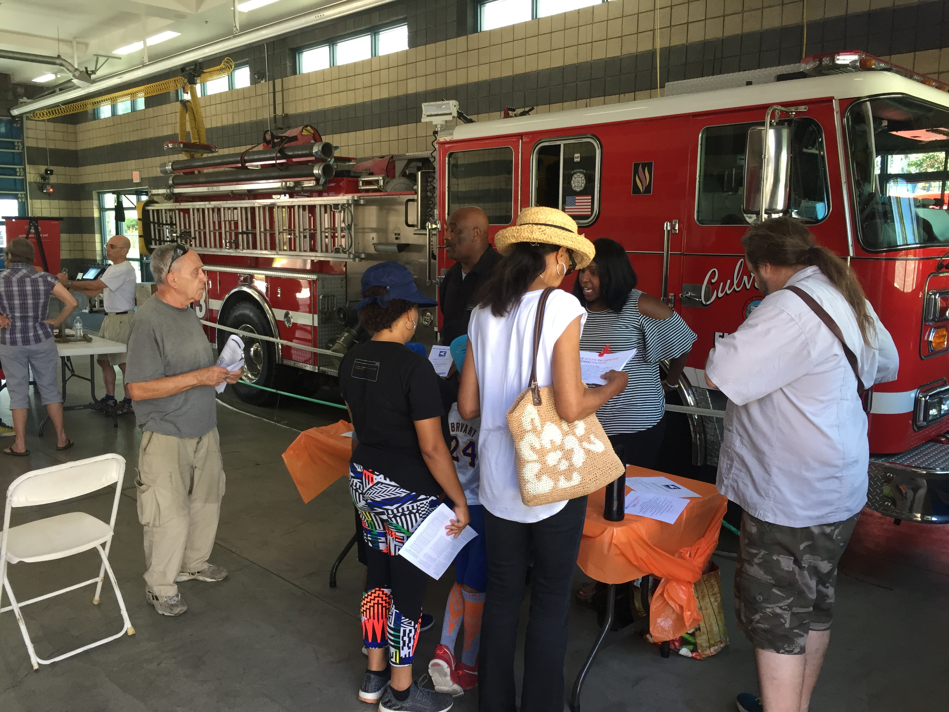 2017 Disaster Resiliency Workshop & Fire station #3 Tour