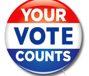 4/10 - Remember to Vote Today!
