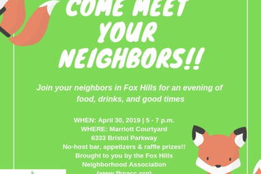 Come Meet Your Neighbors Happy Hour